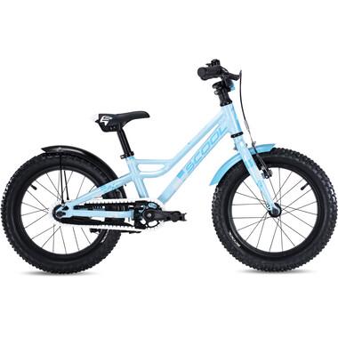 """Vélo Enfant S'COOL FAXE Alu 1V 16"""" Bleu 2020"""